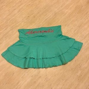 New Abercrombie&Fitch Mini Skirt in Green Size S/M